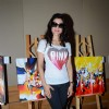 Ameesha Patel Snapped at an Art Exhibition