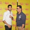Sidharth Malhotra and Akshay Kumar for Promotions of Brothers at Radio Mirchi