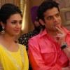 Karan Patel and Divyanka Tripathi on Sets of Ye Hai Mohabbatein