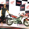 Akshay Kumar at Launch of Honda CBR 650F
