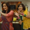 Radhika and Dolly doing dance