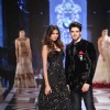 Sooraj Panchol and Athiya Shetty Sizzles at BMW India Bridal Fashion Week
