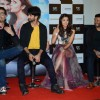 Karan Johar, Shahid Kapoor, Alia Bhatt and Vikas Bahl at Trailer Launch of Shaandaar