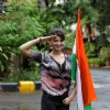 Urvashi Rautela salutes the tricolor on Independence Day