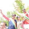 Divya Khosla and Gulshan Grover Spotted in Sabyasachi at a Flag Hoisting Ceremony in San Fransisco!