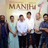 Team Manjhi With Delhi CM for Special Screening of Manjhi - The Maountain Man