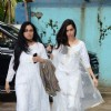 Padmini Kolhapure and Shraddha Kapoor at Prayer Meet of Shraddha's Grandfather