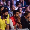 Rana Daggubati and Abhishek Bachchan at Pro Kabaddi Semi Finals