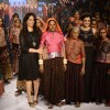 Anita Dongre and Dia Mirza at Lakme Fashion Week