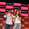 Shahid Kapoor and Alia Bhatt pose for the media at the Close Up First Move Party