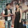 Kapil Sharma and Shruti Haasan snapped while in conversation on Comedy Nights with Kapil
