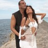 Romantic scene of Sanjay Dutt and Lara Datta | Blue Photo Gallery
