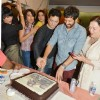 Sajid and Kabir cut a cake at the Special Screening of Phantom