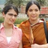 Nanda with her daughter Geeti