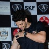 Sooraj Pancholi Flaunts His Biceps During Promotions of Hero at Mithibai College