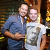 Celebs at Elijah Wood and Zach Cowie's Bash