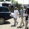 Shekhar Kapoor and Sudhir Mishra at Aadesh Shrivastava's Funeral