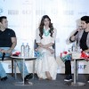 Salman Khan, Athiya and Sooraj Pancholi at Press Meet of 'Hero' in Gurgaon