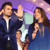 Karan Tacker and Getta Kapoor at Finale of 24th Miss India Worldwide 2015