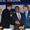Amitabh Greets Ratan Tata at TB Free India Press Meet