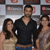 Fida Shaw, Freddy Daruwala and Shaina NC at DishCo App Launch