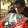 Zayed Khan riding a bike