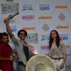 Ranveer Singh Plays Dhol at 'Gajanana' Song Launch of Bajirao Mastani