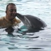 Sanjay Dutt with a Dolphin | Blue Photo Gallery