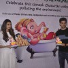 Sooraj Pancholi and Athiya shetty Distributes Ganesh Idols at Green Ganesh Pandal