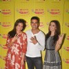 Lara Dutta, Akshay Kumar and Amy Jackson for Promotions of Singh is Bliing at Radio Mirchi