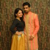 Vishal Singh and Giaa Manek at a Charity Event