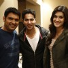 Varun Dhawan and Kriti Sanon with Kapil Sharma Special Screening of Kis Kisko Pyaar Karoon