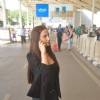 Elli Avram was snapped at Domestic Airport