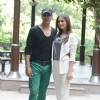 Amy Jackson and Akshay Kumar at the Press Meet of Singh is Bling in Delhi