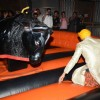 Akshay Kumar tries his hand at bull ride at the Bling Fashion Show