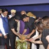 Akshay Kumar lights the lamp at the Special Screening of Singh is Bling