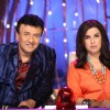 Anu Malik and Farah Khan judging