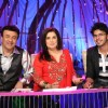 Anu Malik and Farah Khan with Sreesanth