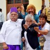 Om Puri, Razzak Khan, Rajpal Yadav and Sanjay Mishra On Set of 'Hogaya Dimaagh Ka Dahi'