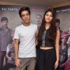 Shashank Arora and Shivani Raghuvanshi pose for the media at the Press Meet of Titli