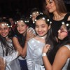 Sushmita Sen Clicks Picture With Students at a School Event