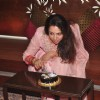 Hema Malini Cuts Cake and Celebrates Her Birthday with Media