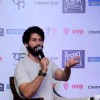 Shahid Kapoor Interacts With Media During Promotions of Shaandaar in Delhi