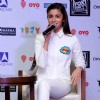 Alia Bhatt Interacts With Media During Promotions of Shaandaar in Delhi