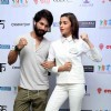Shahid Kapoor and Alia Bhat for Promotions of Shaandaar in Delhi