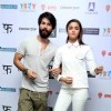 Alia Bhatt and Shahid Kapoor for Promotions of Shaandaar in Delhi