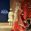 Beautiful Deepika Padukone Walks the Ramp for Launch of Anju Modi's 'Bajirao Mastani' Collection