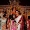 Sushmita Sen with her Daughters at Durga Pooja