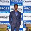 Hrithik Roshan at Launch of Discovery's New Show 'HRX Heroes'