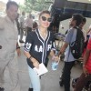 Jacqueline Fernandes Snapped at Airport